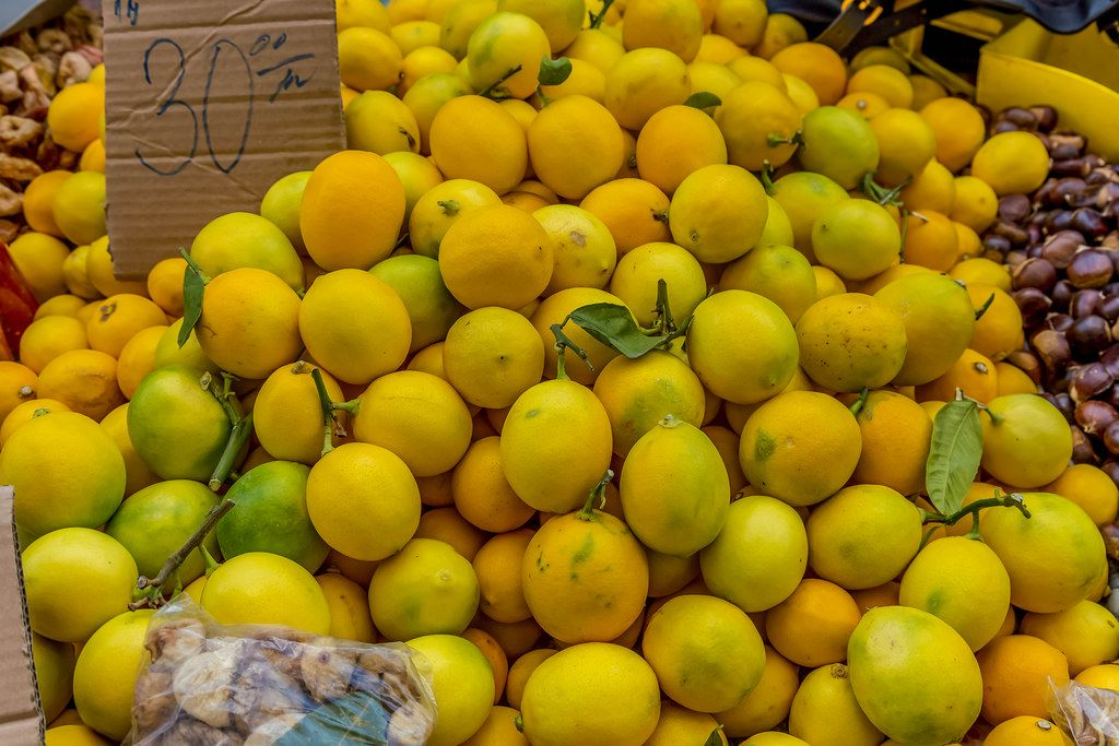 Lemons on marketplace