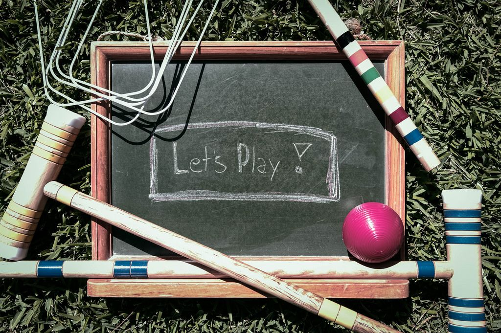 Let's play croquet