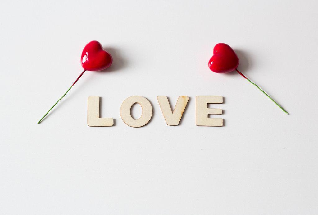 Liebe und Herzen