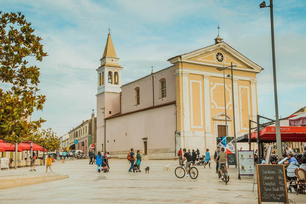 Liebfrauenkirche in Poreč, Kroatien