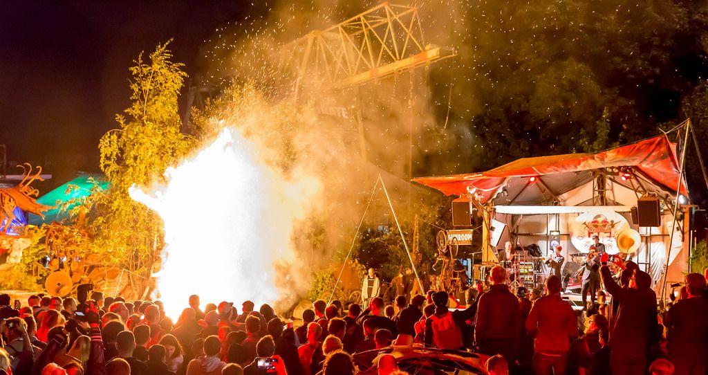 Like a Burning Man Festival