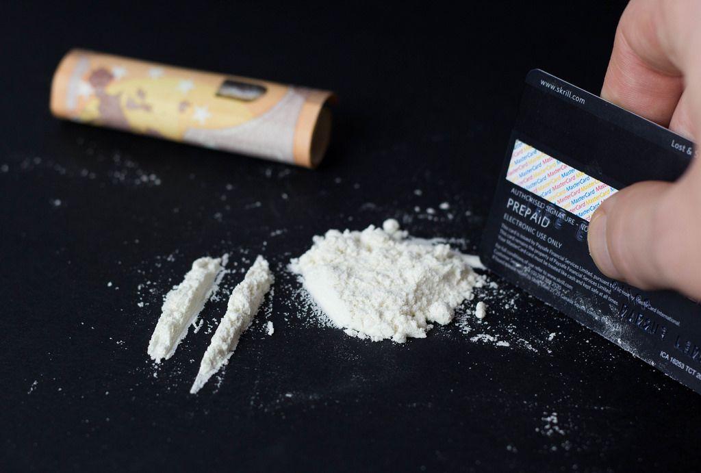 Lines von Kokain
