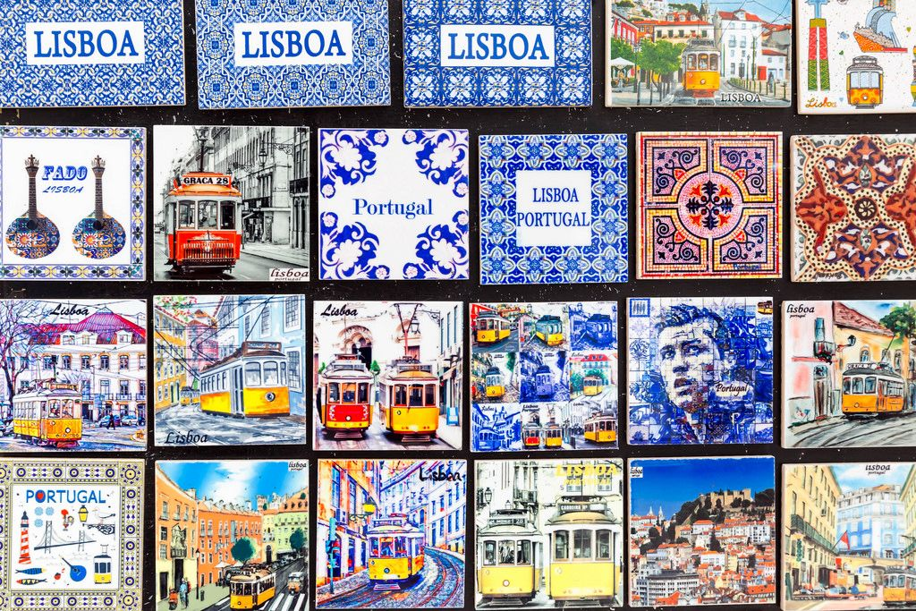 Lissabon Souvenirs: Keramik