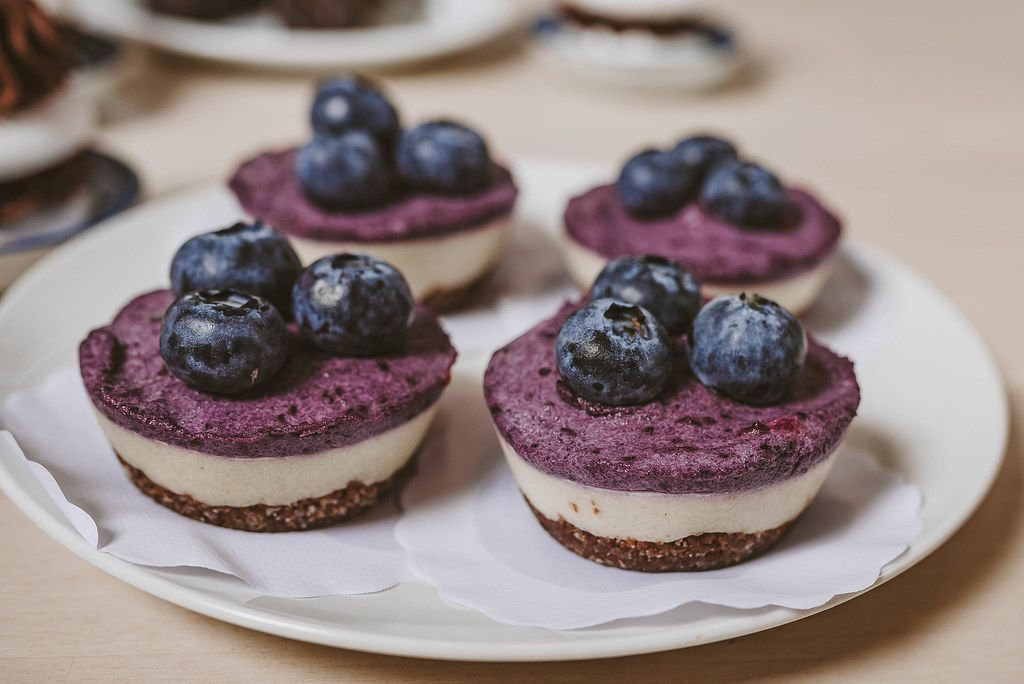 Litle blueberry cheese cakes (Flip 2019)