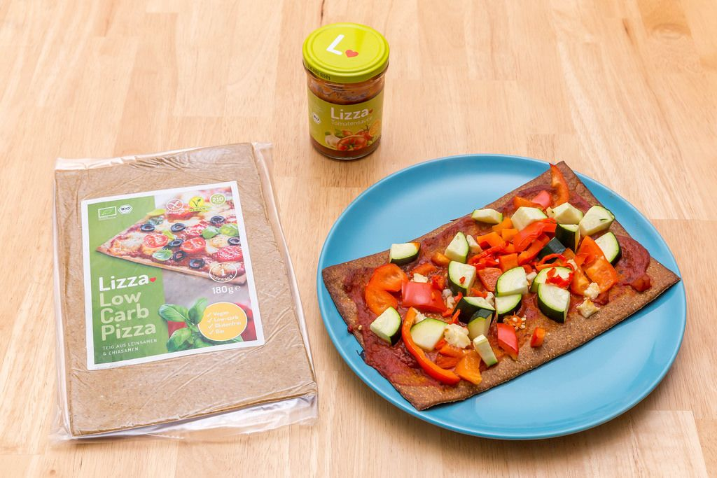 Lizza: Die Low Carb Pizza