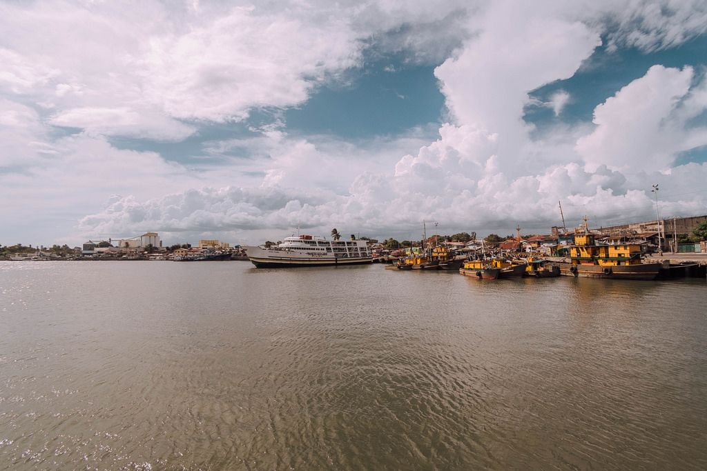 Local harbour in Iloilo City