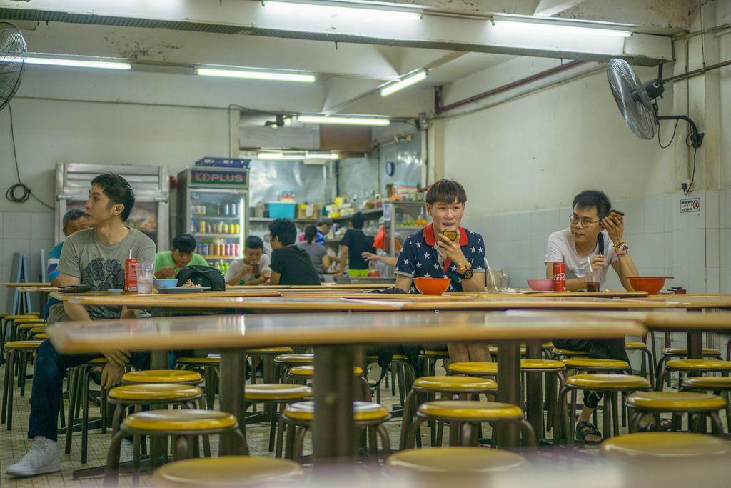 Local Restaurant in Kuala Lumpur's Chinatown