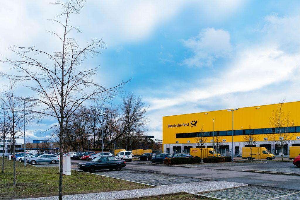 Logistikzentrum der Deutschen Post in Berlin Charlottenburg