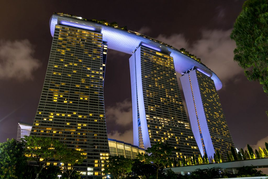 Long Exposure: Marina Sands Bay Hotel