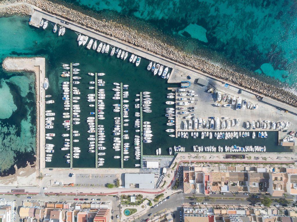 Luftaufnahme Club Nàutic Ca'n Picafort