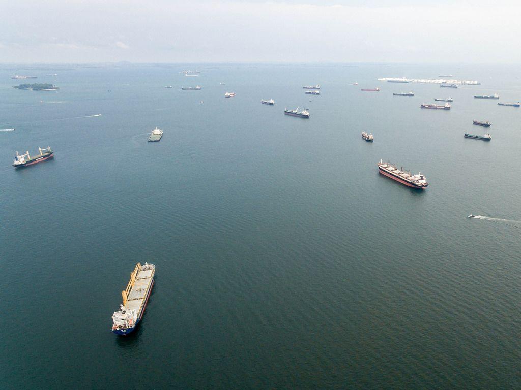Luftaufnahme: Frachts