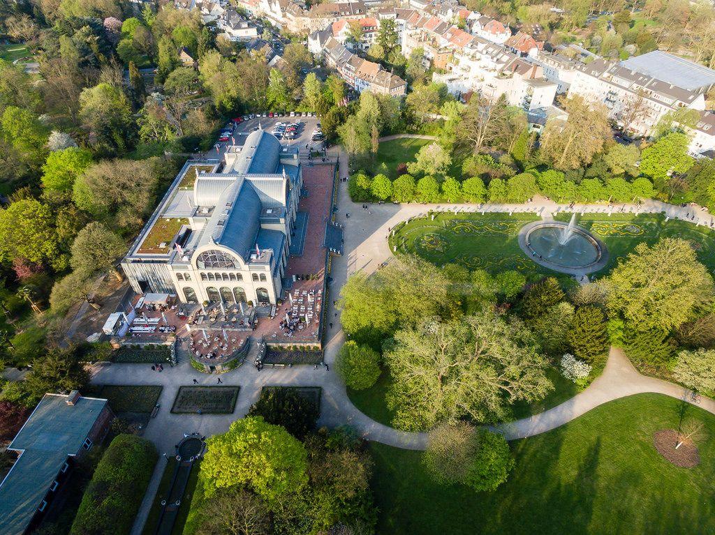Luftbild: Flora Köln und Dank Augusta
