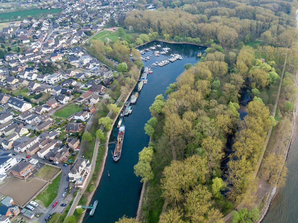 Luftbild: Rhein-Yacht-Club Niederkassel-Mondorf e.V.
