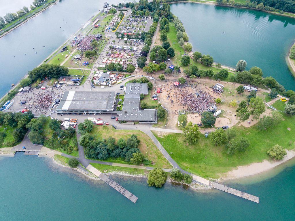 Luftbild: Springinsfeld Festival 2017 in Köln