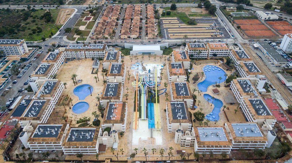 Luftbild vom Resort BH Mallorca in Magaluf, Mallorca