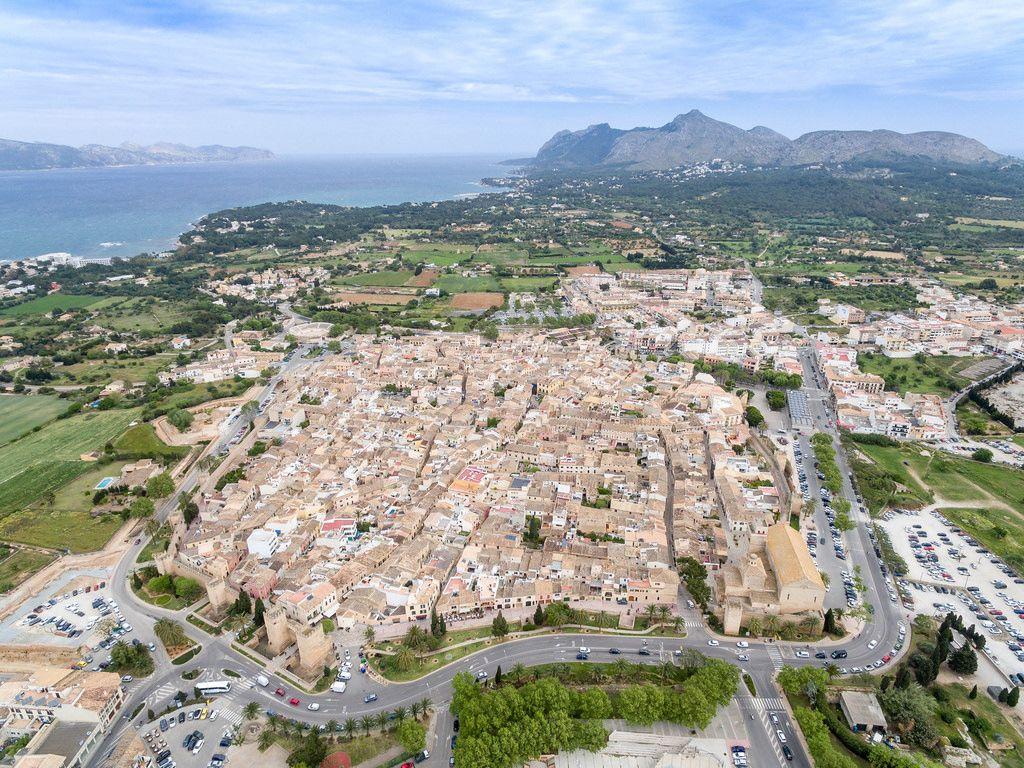 Luftbild von Alcúdia