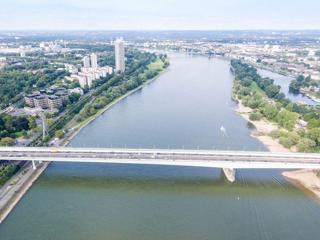 Luftbild: Zoobrücke Köln