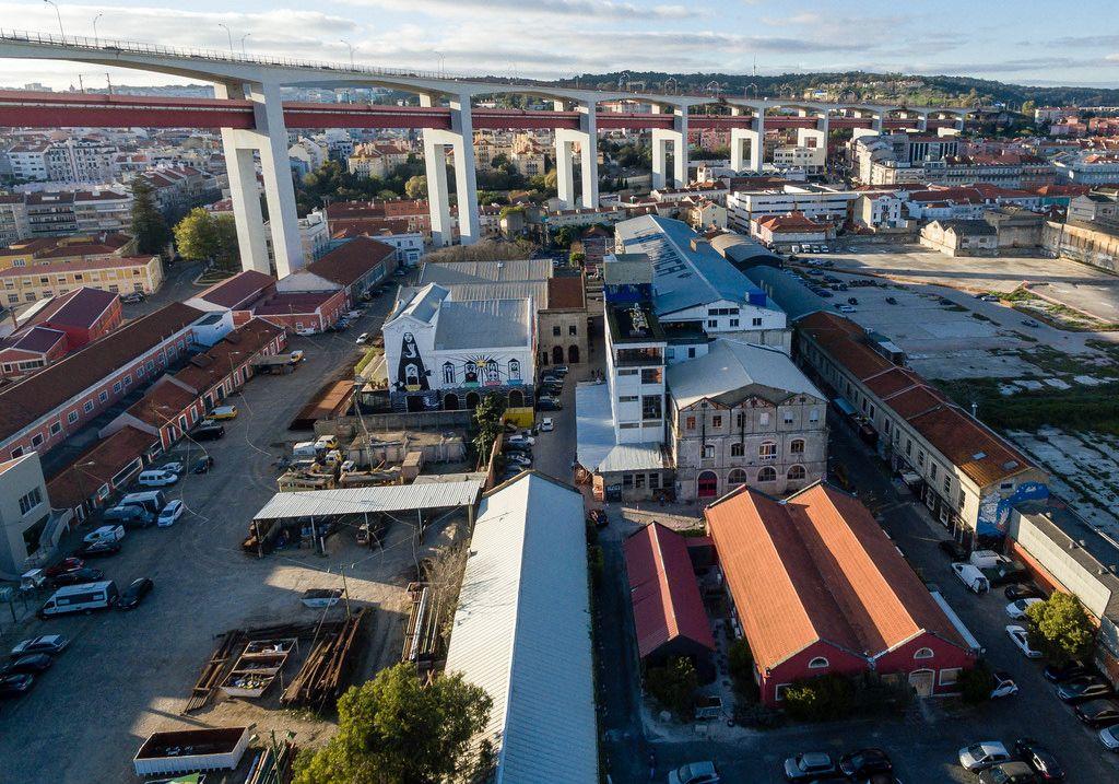 Luftbildaufnahme: LX Factory