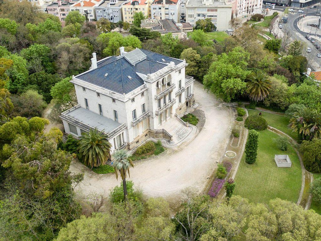 Luftbildaufnahme: Palacete Henrique Mendonça