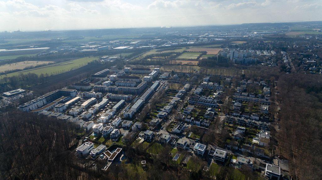 Luftbildaufnahme von Marsdorf, Köln