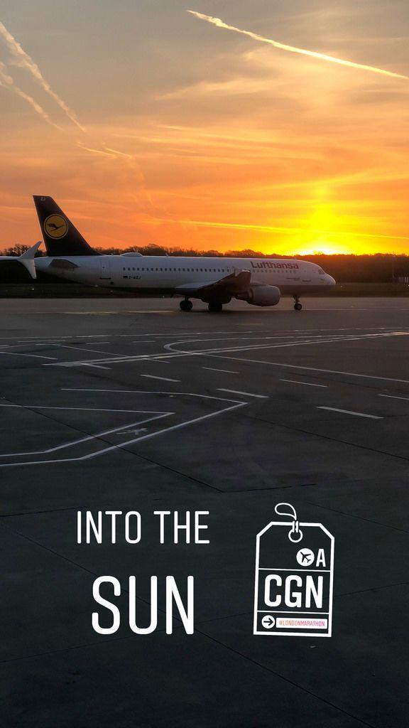 Lufthansa-Flugzeug am Flughafen London Heathrow