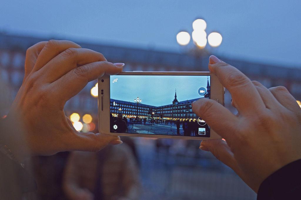 Madrid Smartphone Photo
