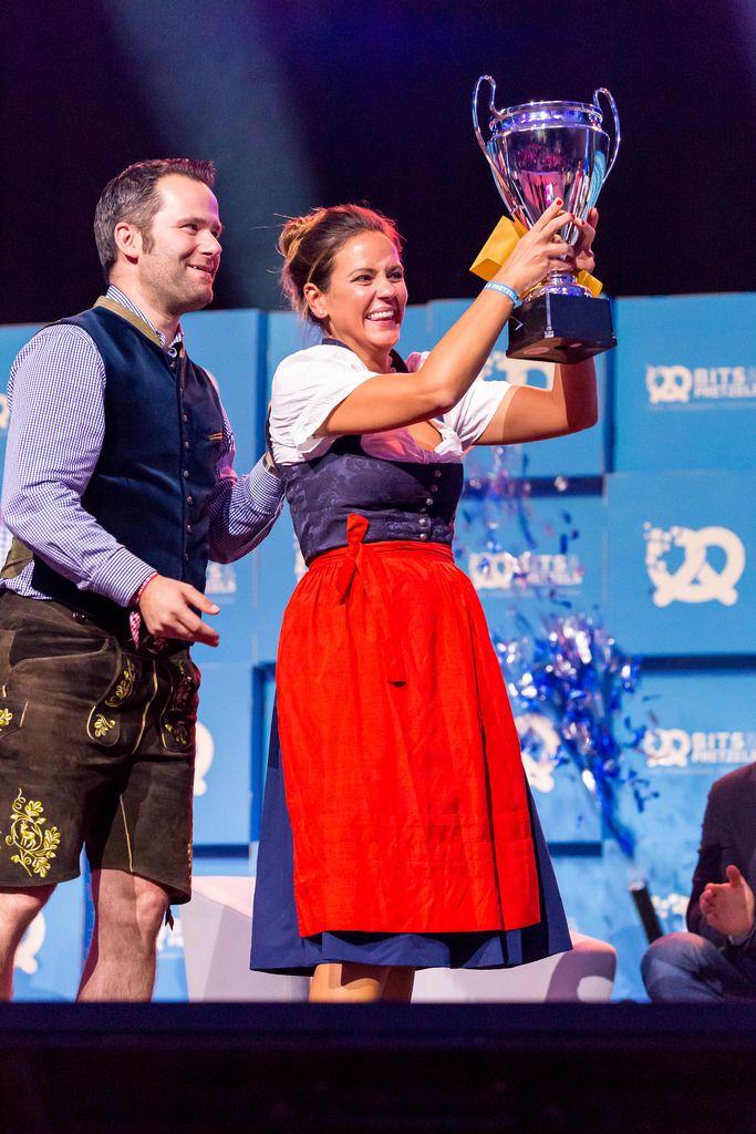 Magdalena Oehl gewinnt den Pitch-Wettbewerb