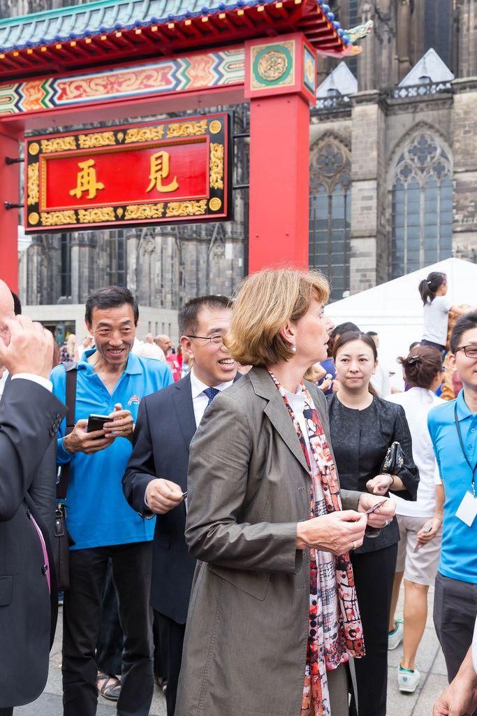 Major Henriette Reker at Chinafest in Cologne