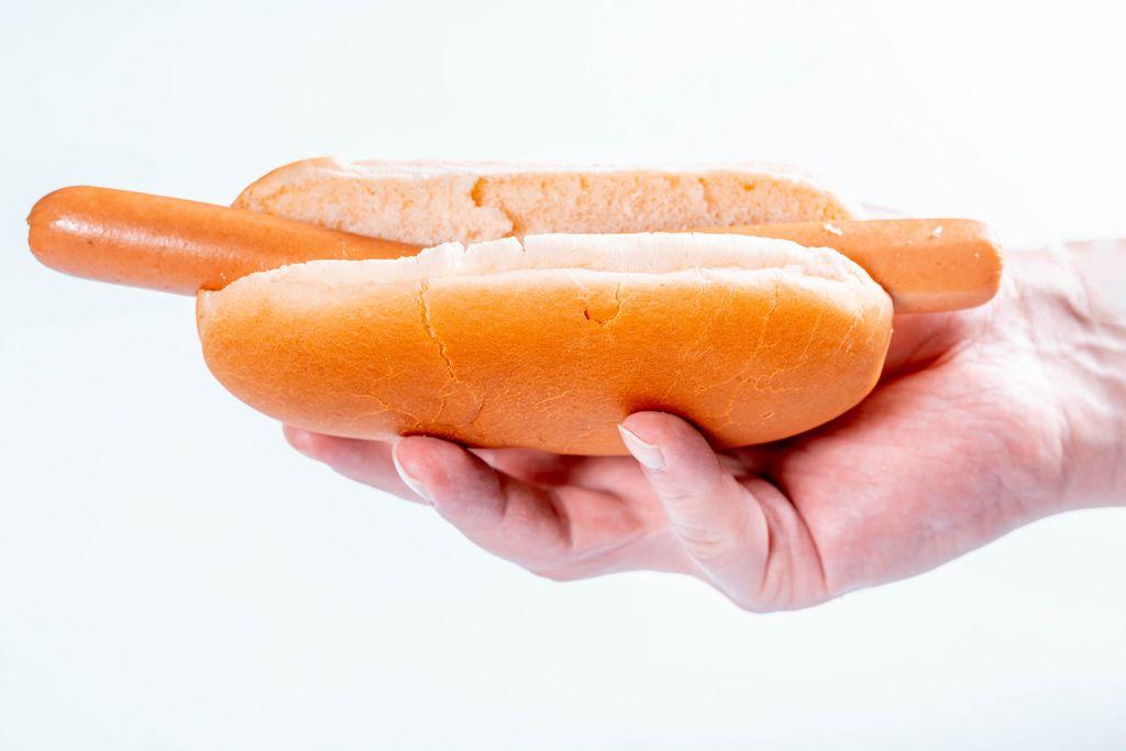Man holding hot dog (Flip 2019) (Flip 2019) Flip 2019