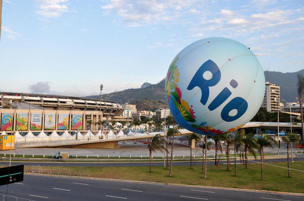 Maracana-Stadion in Rio de Janeiro während der WM 2014 in Brasilien