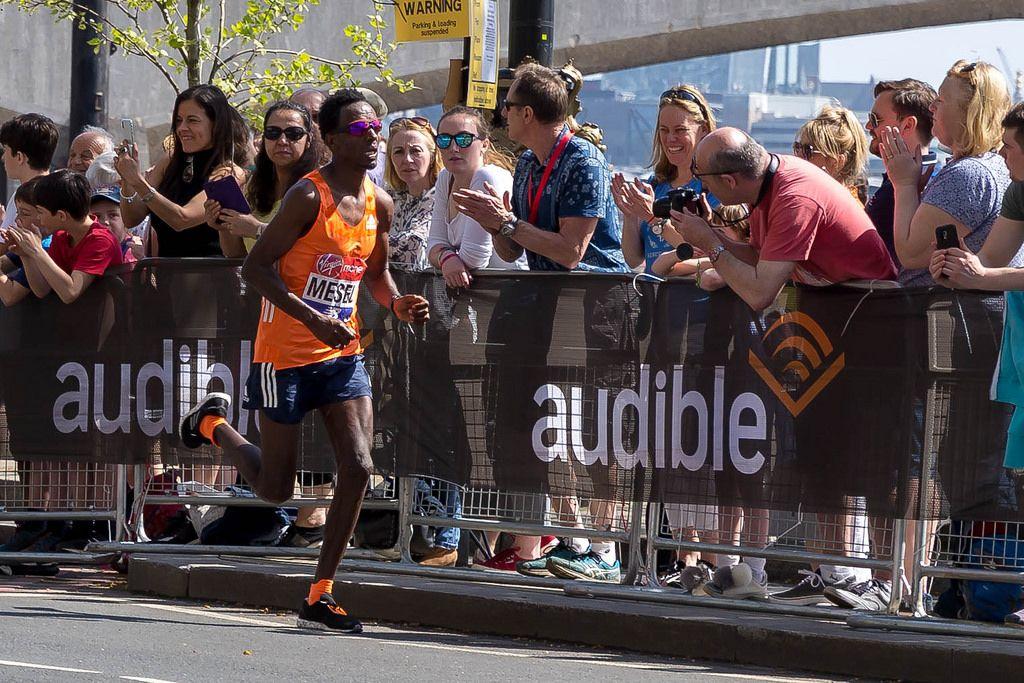 Marathon runner Amanuel MESEL - London Marathon 2018