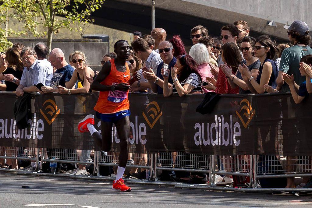 Marathon runner Lawrence CHERONO - London Marathon 2018