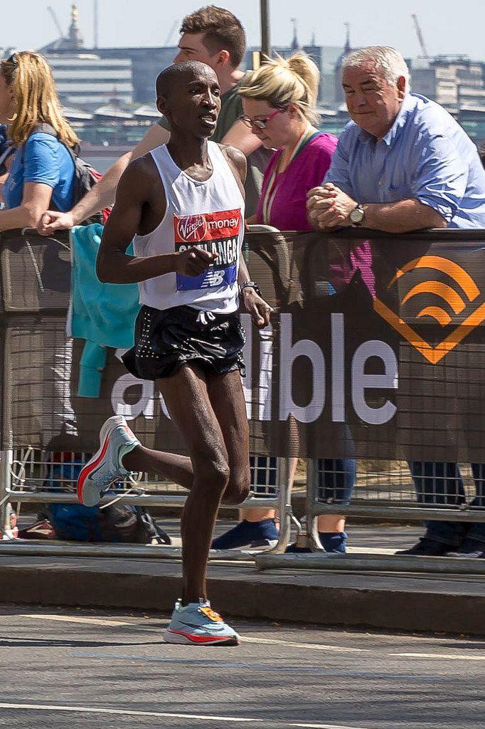 Marathon runner Samuel Chelanga - London Marathon 2018