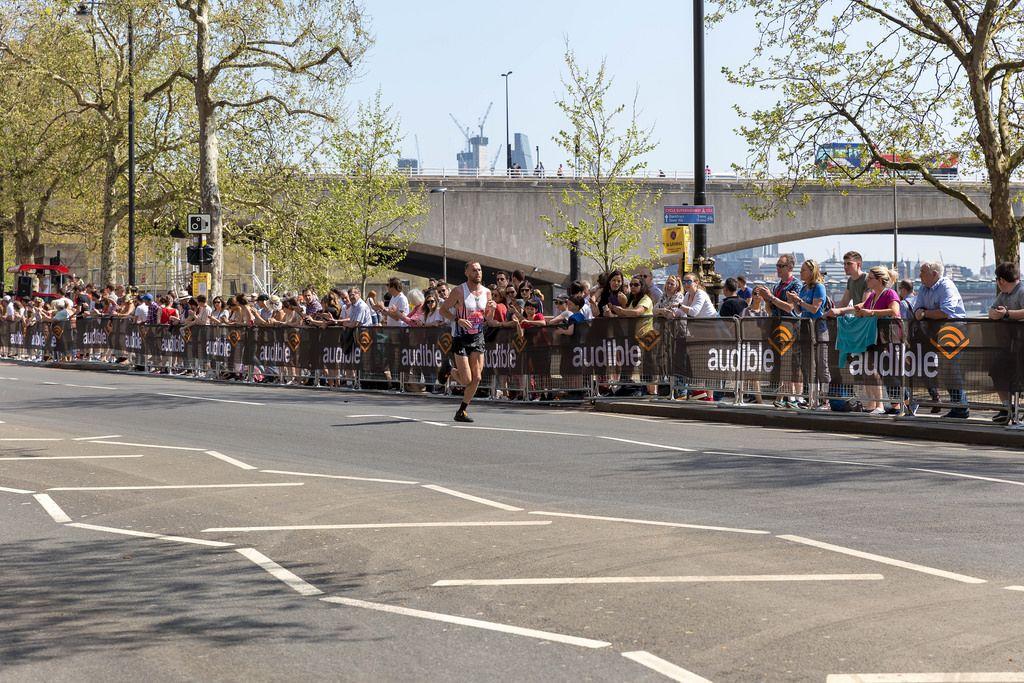 Marathon runner Stephen SCULLION - London Marathon 2018