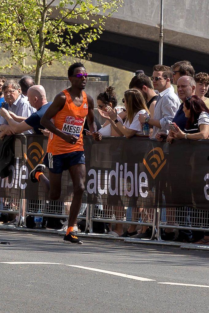 Marathonläufer Amanuel MESEL - London Marathon 2018