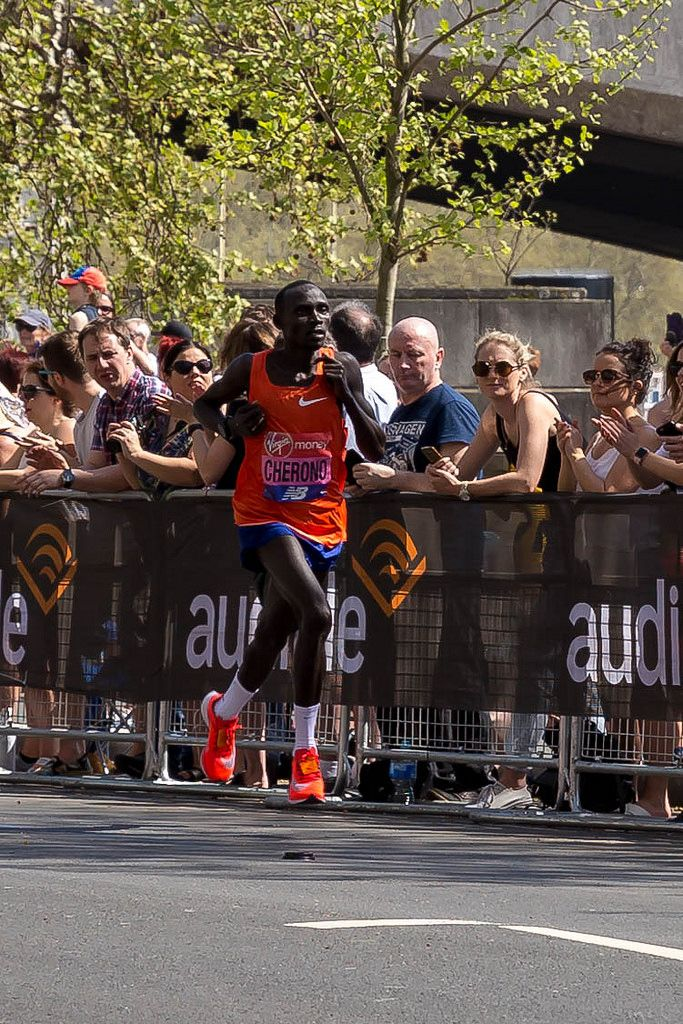 Marathonläufer Lawrence CHERONO - London Marathon 2018