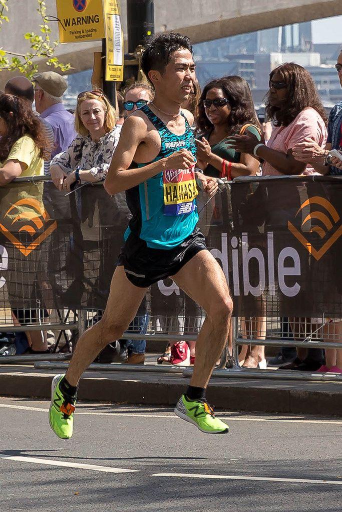 Marathonläufer Tatsunori Hamasaki - London Marathon 2018