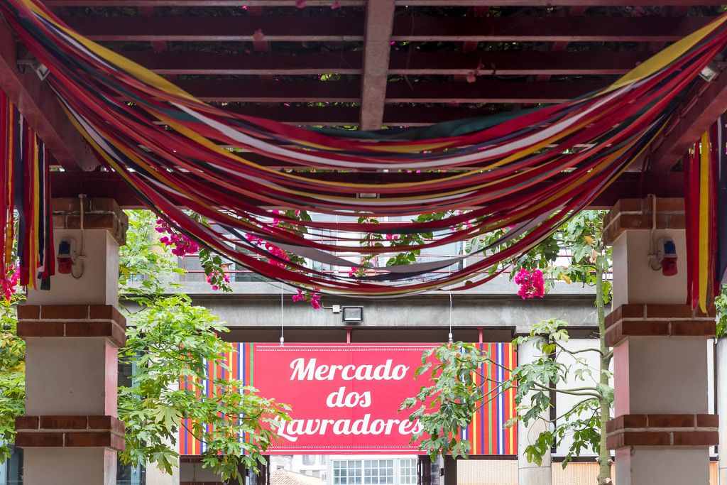 Market: Mercado dos Lavradores in Funchal