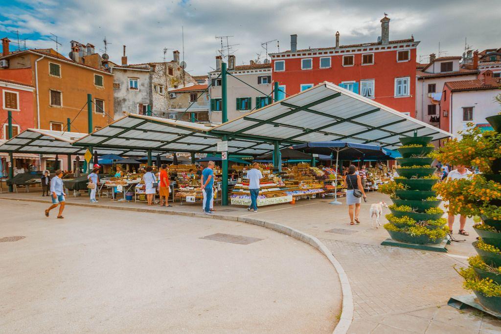 Marktgemeinde in Rovinj