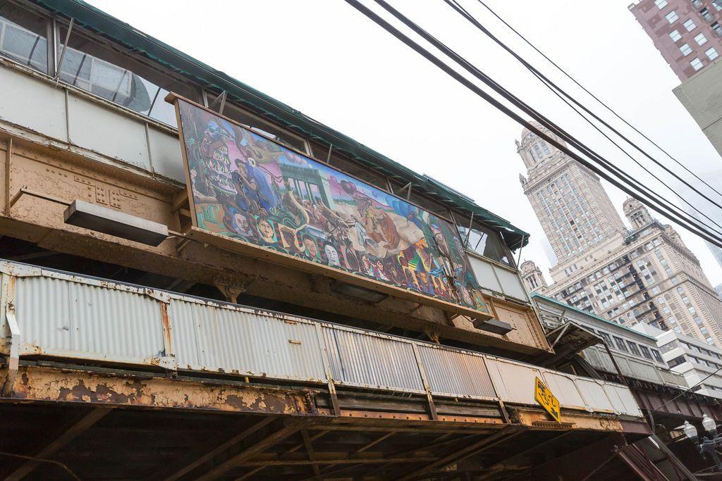 Marode Infrastruktur und Straßenkunst