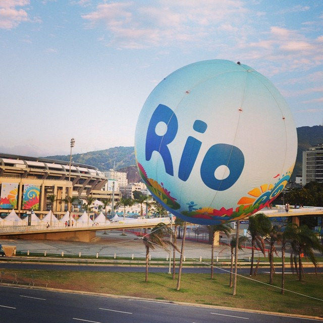 Matchday in Rio! #frager #rio #wm2014 #maracana #germany #brasil #deutschland #instapic #fifawm2014