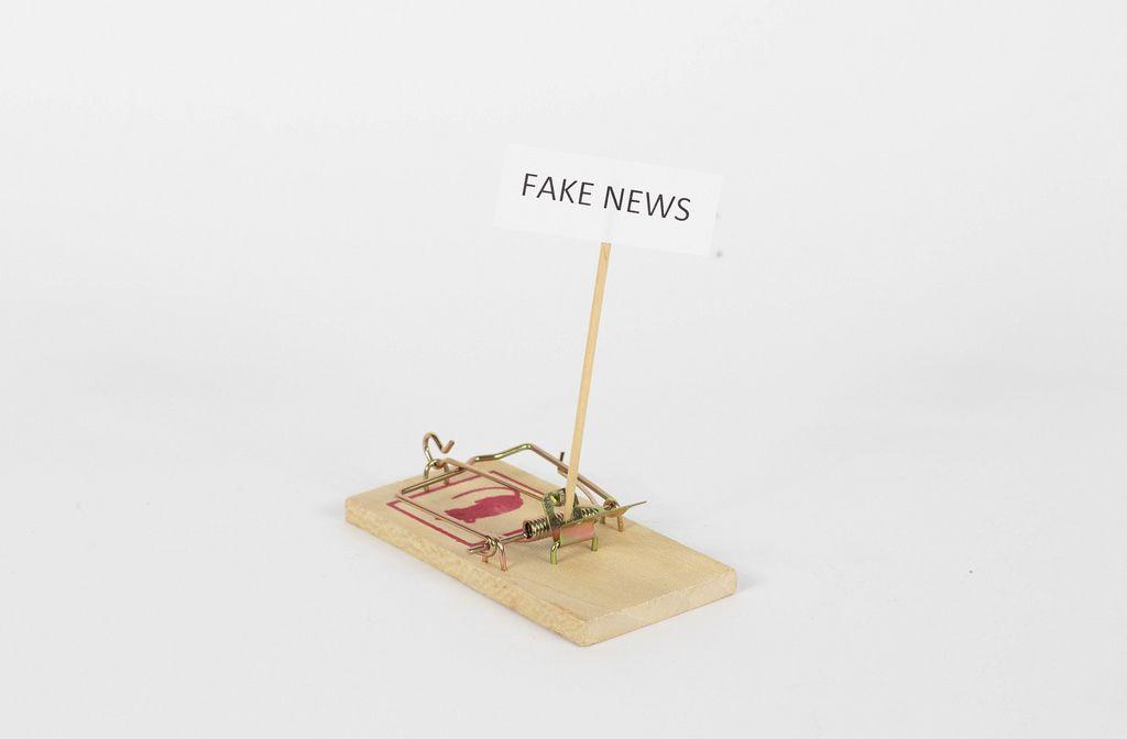 Mausefalle mit Fake News als Köder