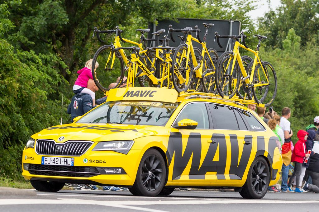 MAVIC-Materialwagen