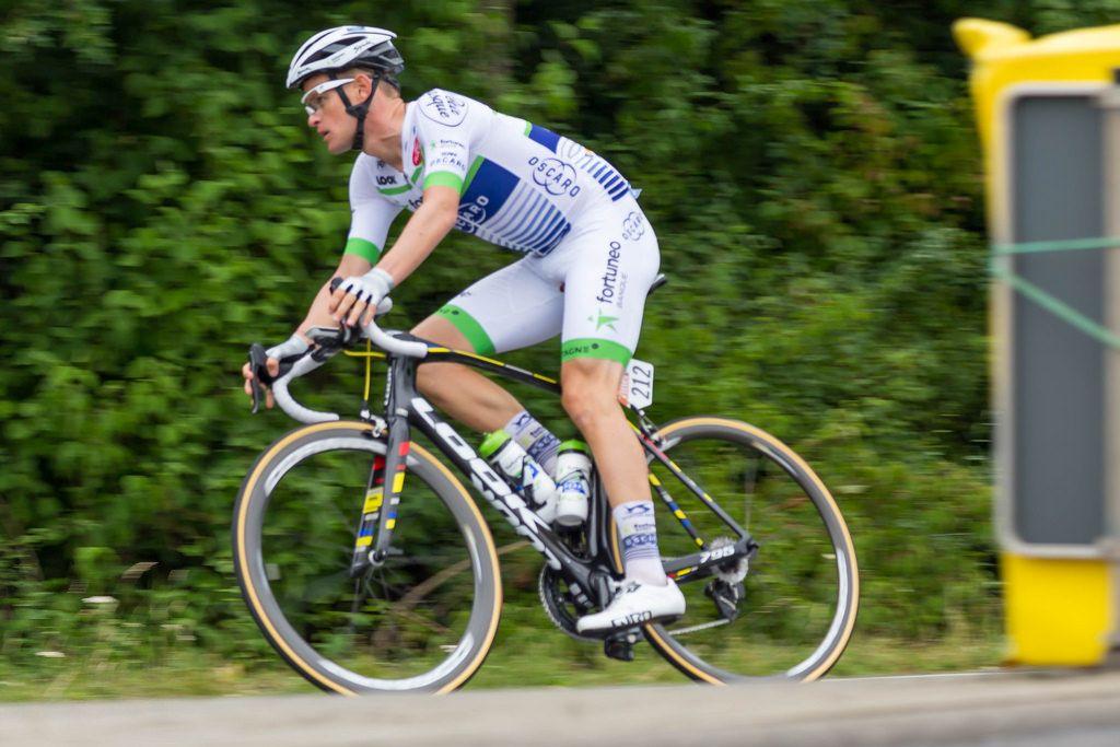 Maxime Bouet aus Frankfreich vom Team Fortuneo