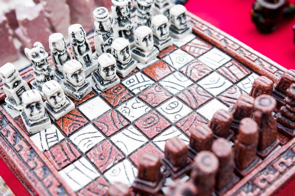 Mayan style chess