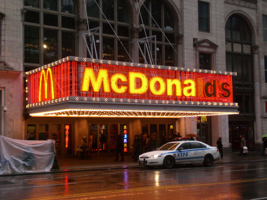 Mc Donalds, Times Square