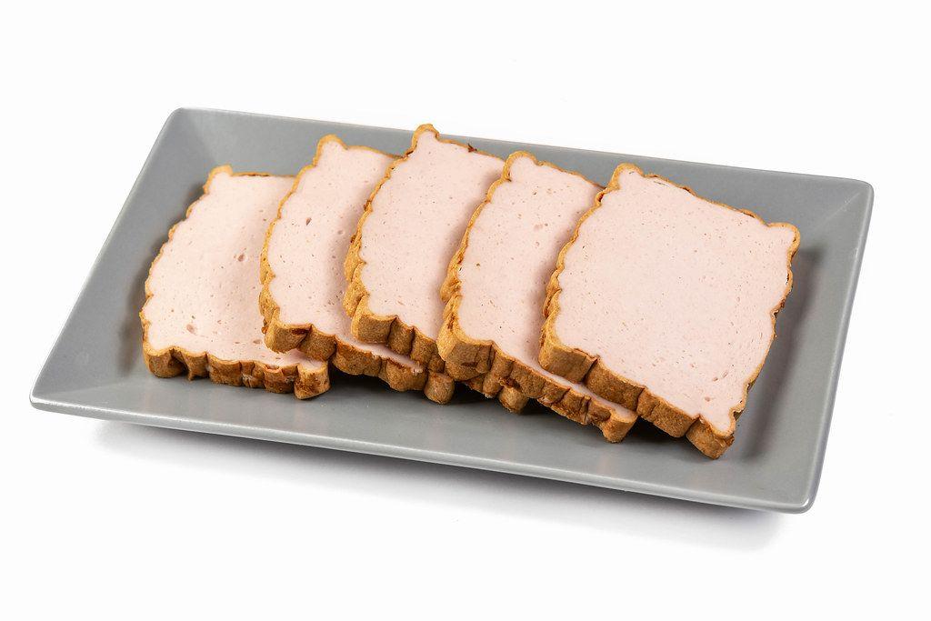 Meatloaf slices on the plate (Flip 2019)