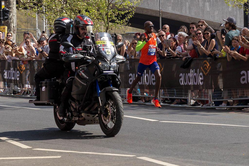 Media bike - London Marathon 2018