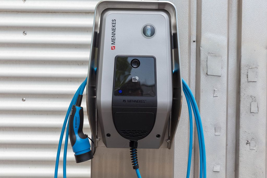 Mennekes intelligent charging station for electric cars