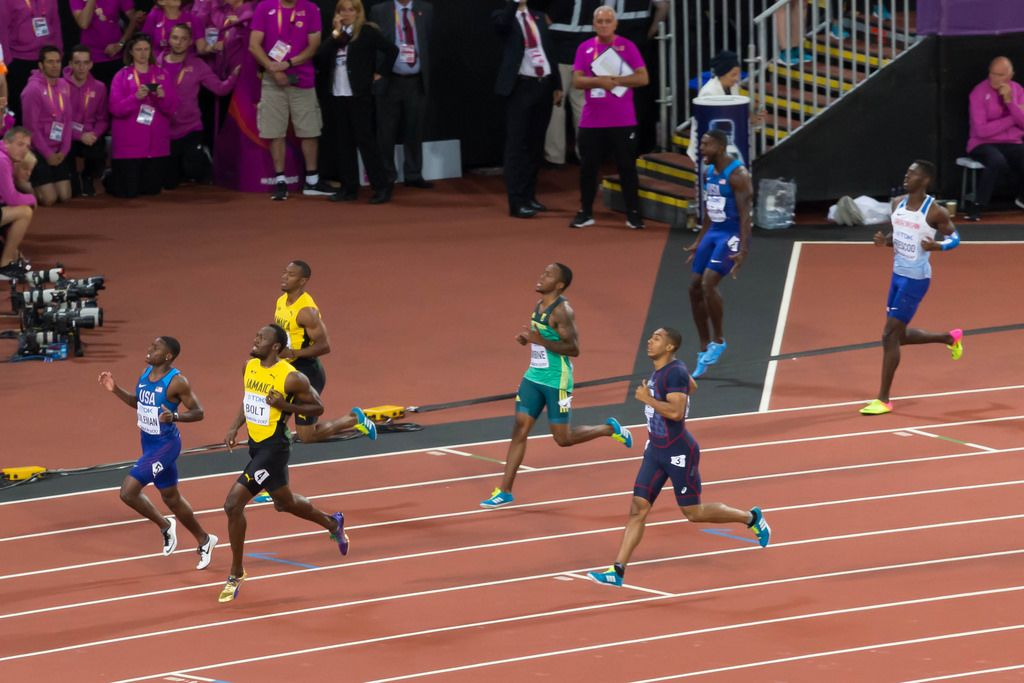 Men's 100m Final in London 2017